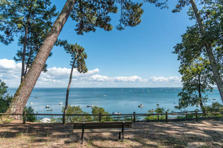 Arcachon Bay, France, view over the Point of Horses