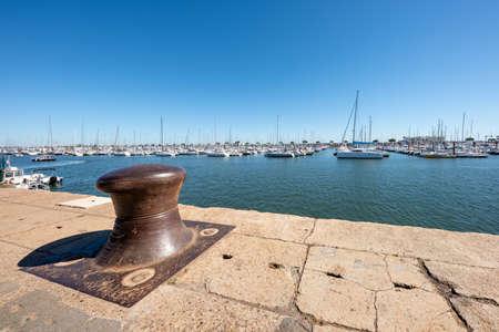 Arcachon, France. The marina Banque d'images - 104593520