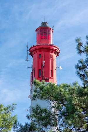 Cap Ferret, Arcachon Bay, France. The lighthouse