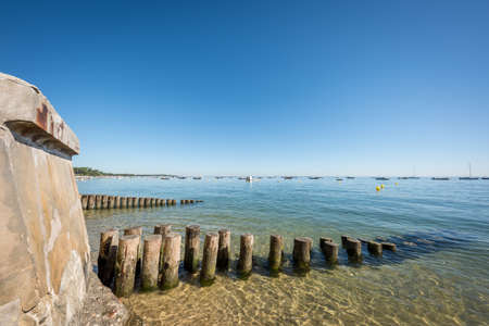 Cap Ferret, Arcachon Bay, France. View over the bay Banque d'images - 114913153