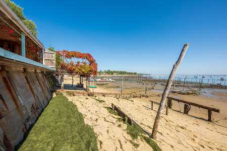 Arcachon Bay, France. The beach of The Canon Banque d'images - 115269947