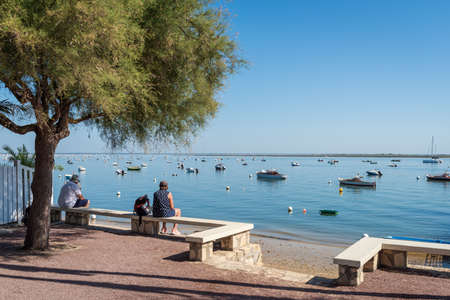Arcachon Bay, France. View over the bay Banque d'images - 115270004