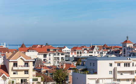 Arcachon, France. View over the city Banque d'images - 117161936