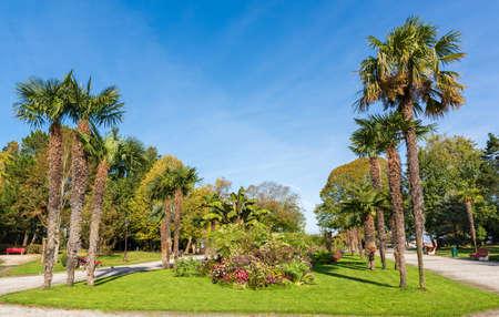 Arcachon, France. The Moorish Park Banque d'images - 115411828