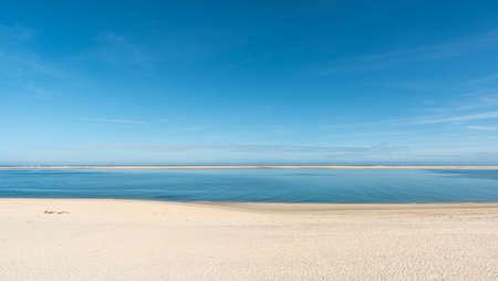 Arcachon Bay, France. The beach Petit Nice near Arcachon, Arguin