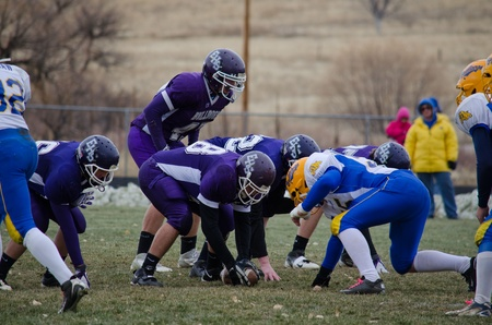 linemen: Elbert, CO- November 5, 2011: Elbert High School vs Dove Creek High Schoo Editorial