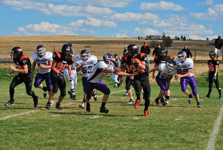 pepsico: Kiowa, CO, October 9, 2010- Elbert High School vs Kiowa High School