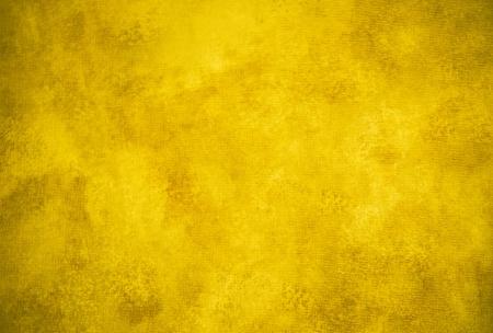 클래식 어두운 노란색 회화 적 질감 또는 배경