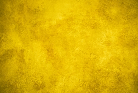 Classic dark yellow painterly texture or background