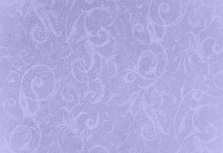 stylish lavendar swirl texture or background with lovely floral and vine curls and patterns