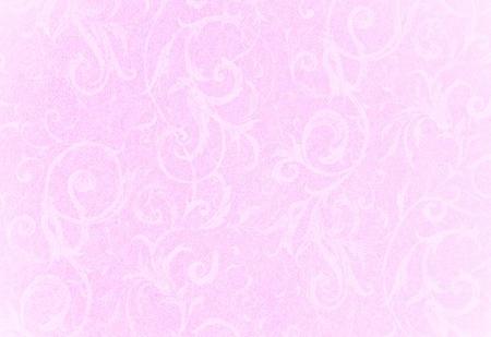 stijlvolle verschoten roze textuur krul of achtergrond met mooie bloemen en wijnstokken krullen en patronen