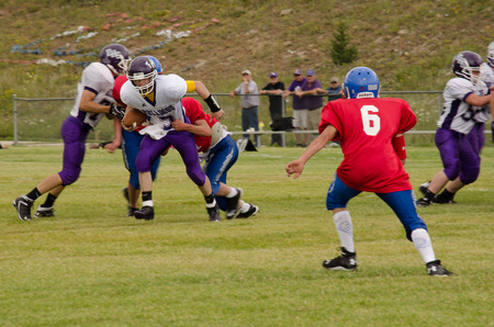 the royal county: Cripple Creek, CO, 08312013, Football game: Elbert High School versus Cripple Creek-Victor High School Editorial