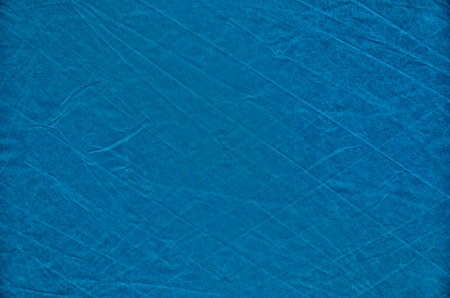 풍선 캔버스의 파란색 배경과 텍스처의 눈에 띄는 주름 스톡 콘텐츠