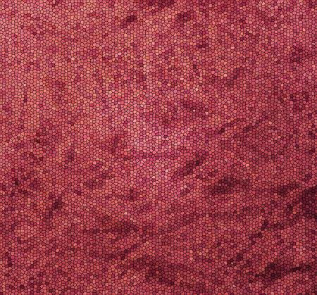 눈에 띄는 잔물결 및 주름과 풍선 캔버스 배경에 빨간색 스테인드 글라스 질감 효과