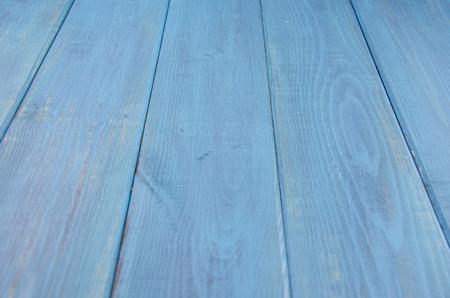 vintage blue wooden background with horizontal orientation