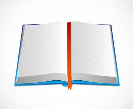 Icon of open book Vector