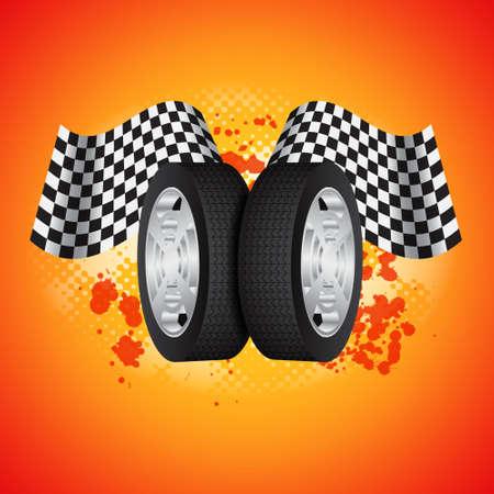 Racing background
