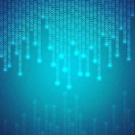 Binary background Stock Vector - 14799606