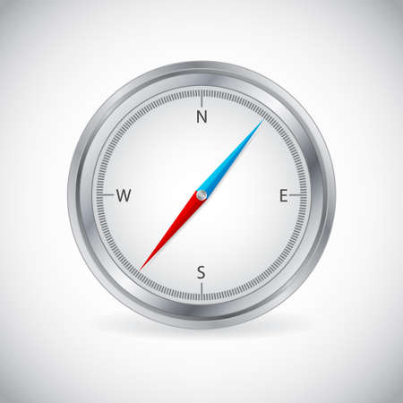 Icon of compass Stock Vector - 14799602