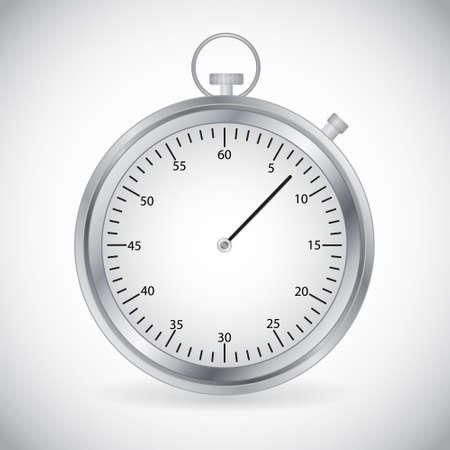 Icon of stopwatch Illustration