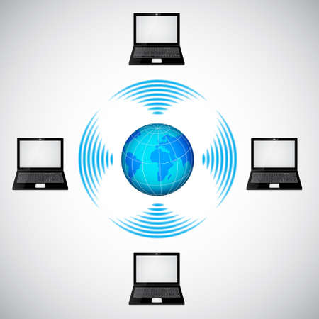 wireless network: Red inal�mbrica. Raster versi�n