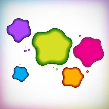 splodge: Vector background with blob Illustration