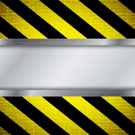Warning stripe background Stock Vector - 16947699