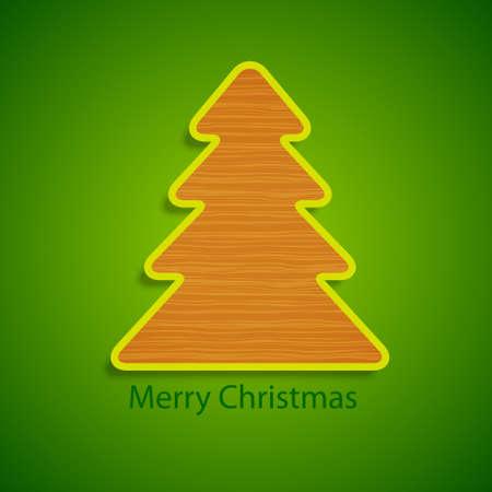 Christmas tree  Stock Vector - 17019370