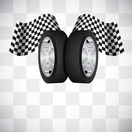 tire cover: Racing background