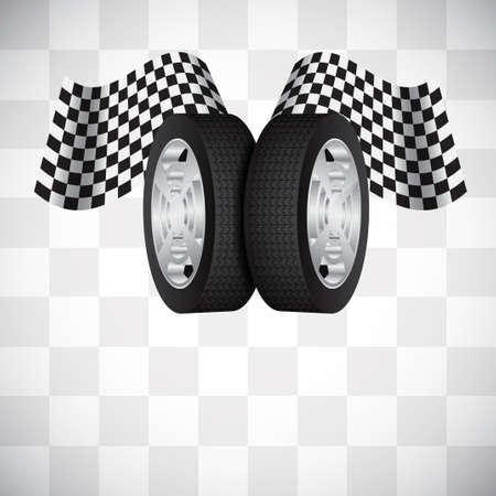 Racing background Stock Vector - 17105301