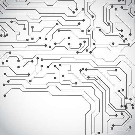 binary background: Microchip background