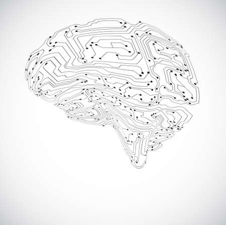 software engineering: Technology background Illustration