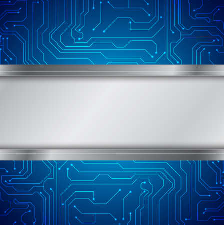 electrical circuit: Sfondo di tecnologia