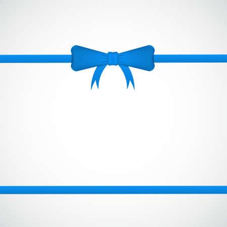 Bow and ribbon Stock Vector - 17304775