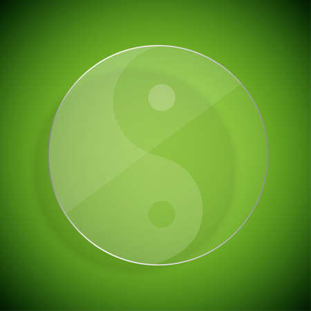 Yin yang Stock Vector - 17379227