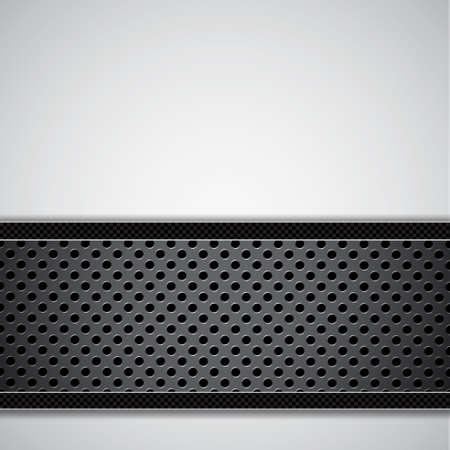 Metal circular grid Stock Vector - 17696786