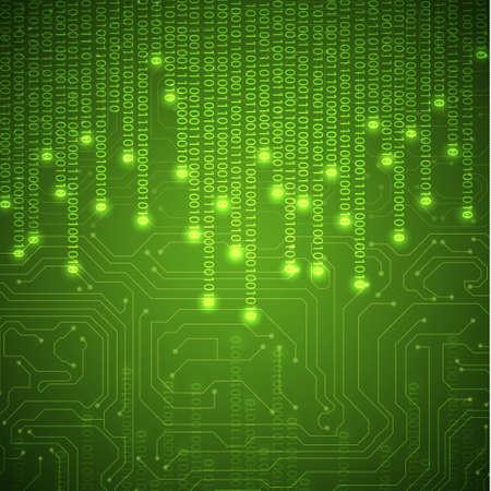 bin�rcode: Binary Hintergrund Illustration