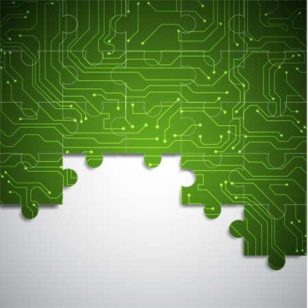 computer software: Microchip background