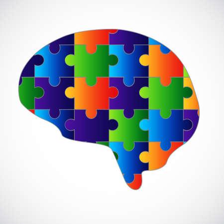 puzzle piece: Mente rompecabezas