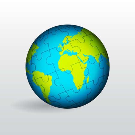 Globe of Earth Stock Vector - 18014703