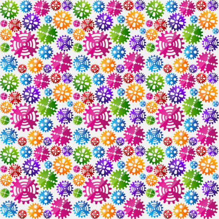 Seamless gears background Stock Vector - 18119284