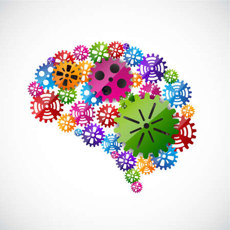brain and thinking: Gears mind