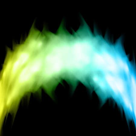 blue flame: Fire background Illustration