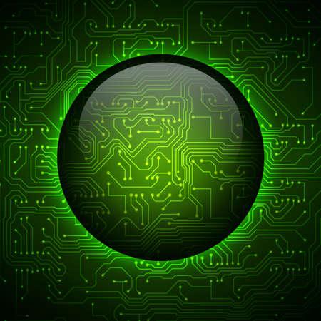 circuitos electricos: Circuito de fondo del tablero