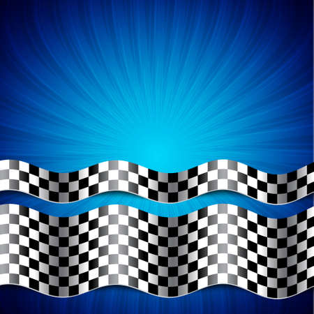 Race background. Checkered flag. EPS10 vector Ilustrace
