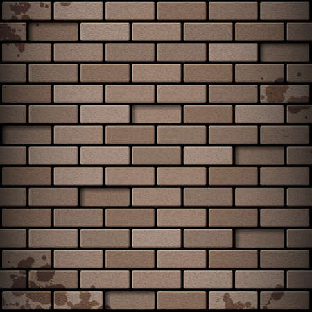 Brick wall. EPS10 vector Vector