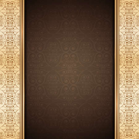 Vintage background. Ornate background.