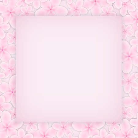pink flower: Pink flower background.  Illustration