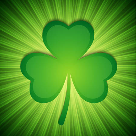Clover background.   Vector