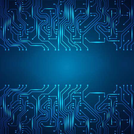 circuitos electricos: Fondo de la tarjeta de circuito.
